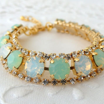 Best 14k Gold Opal Bracelet Products on Wanelo ae73dd84e