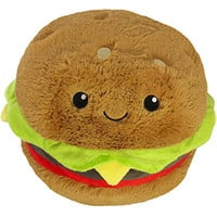 Squishable Hamburger: An Adorable Fuzzy Plush to Snurfle and Squeeze!