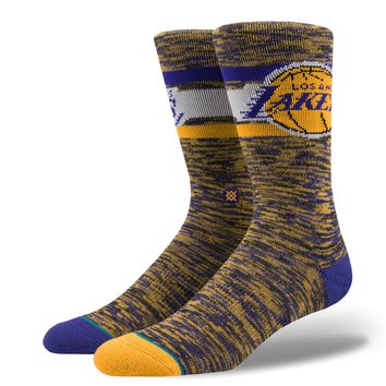 STANCE LAKERS MELANGE SOCKS