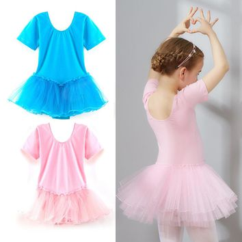 New Girls Kids Baby Ballet Dance Dress Candy Color Tutu Dress Dance Clothing Ballet Leotard Stage Dancewear Baby Costumes
