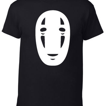 No Face Spirited Away anime Tee Shirt Tshirt studio ghibli fan fandom
