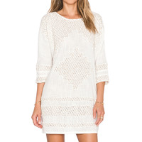 Free People Desert Song Dress in Ivory