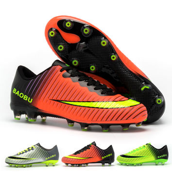 Trainers Football Boots Superfly Original 2017 Men Boys Kids Sneakers Adult Football Shoe Unisex Soccer Cleats Sport Shoes