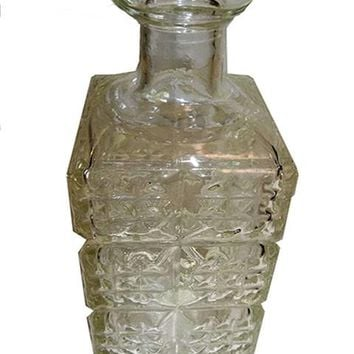Depression Glass Decanter