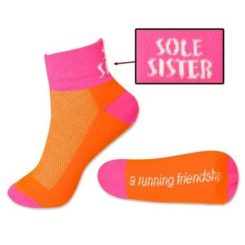 Yakety Yak! Running Socks - Sole Sister