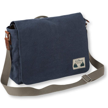 Field Canvas Messenger Bag: Messenger Bags | Free Shipping at L.L.Bean