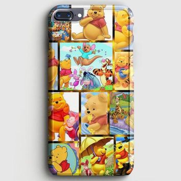 Winnie The Pooh And Friends Pattern iPhone 8 Plus Case