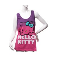 Womens Hello Kitty Bow Tank