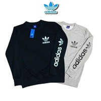ADIDAS Fashion Print Top Sweater Pullover G
