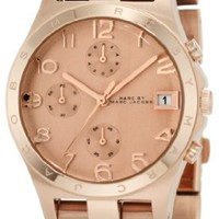 Marc by Marc Jacobs Women's MBM3074 Henry Classic Rose Gold-Tone Stainless Steel Watch with Link Bracelet
