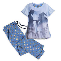 Beauty and the Beast Pajama Set for Women - Live Action Film   Disney Store