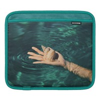 Sea Shell on a Hand in Water Sleeve For iPads