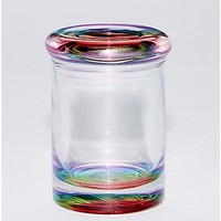 Rainbow Tinted Storage Jar - 3 oz. - Spencer's