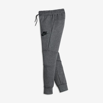 The Nike Sportswear Tech Fleece Big Kids' (Boys') Pants (XS-XL).