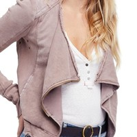 Free People Shrunken Moto Jacket | Nordstrom