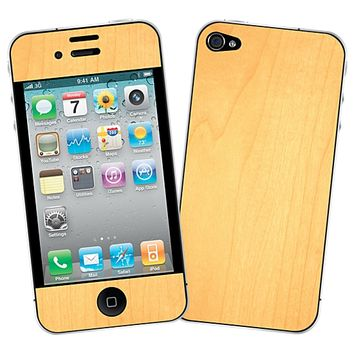 Maple Skin for the iPhone 4/4S by skinzy.com