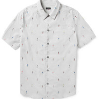 PS by Paul Smith - Printed Short-Sleeved Cotton Shirt | MR PORTER