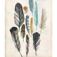 Feathers by groundwork on Etsy