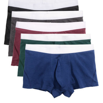 H&M 5-pack Boxer Shorts $24.99