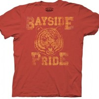 Saved By The Bell Bayside Pride Vintage Rust Adult T-shirt  - Saved by the Bell - | TV Store Online