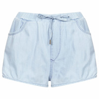 MOTO Tencel Runner Shorts - Bleach Stone
