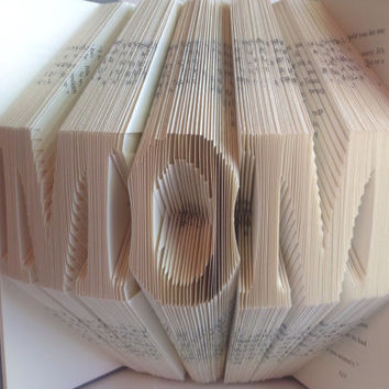 Mom Folded Book Folded Pages Book Art