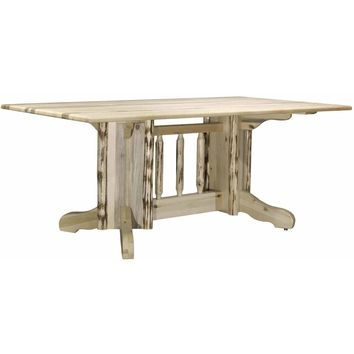 Montana Woodworks - Montana Collection Double Pedestal Dining Table