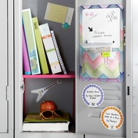 Gear-Up Dottie ZigZag Locker Dry-Erase Pocket