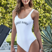 LA Hearts Low Back One Piece Swimsuit at PacSun.com