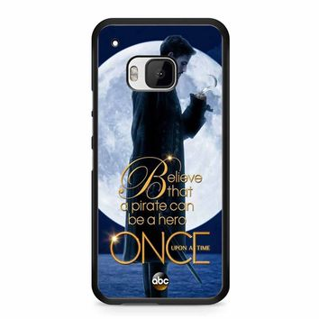 Once Upon A Time Captain Hook Believe HTC M9 Case