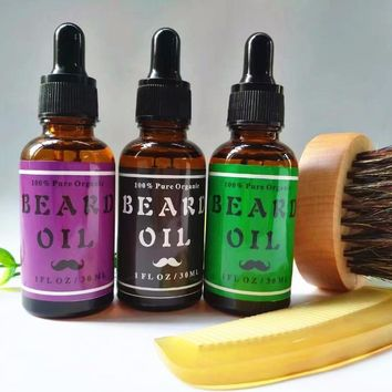 Men's Organic Beard Oil Gift Set