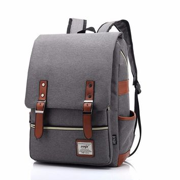 Canvas Backpacks High Quality Mochilas Escolares New Fashion Backpack