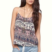LA Hearts Strap Back Scoop Cami - Womens Shirts