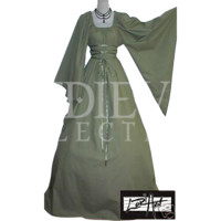 Kathryn Chemise Gown - MCI-4024 by Medieval Collectibles