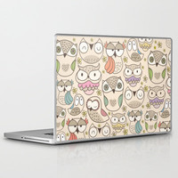 The owling Laptop & iPad Skin by Maria Jose Da Luz | Society6
