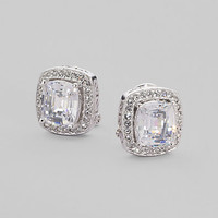 Adriana Orsini - Cushion-Cut Earrings
