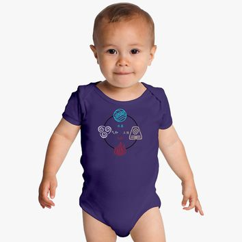 Avatar: The Last Airbender Baby Onesuits