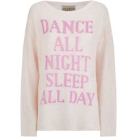 Wildfox Dance All Night Sleep All Day Sweater