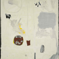 Jean-Michel Basquiat Untitled (Everybody's Two Cents) 1984 Multi