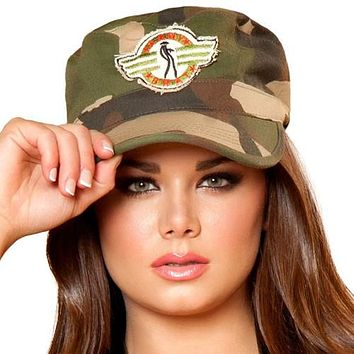 Sexy Camo Army Hat Halloween Accessory