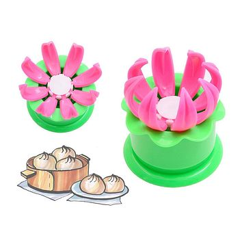 Useful 1Pcs Pastry Pie Steam Bun Dumpling Maker Mold Mould Diy Tool Steamed Buns Steamed Stuffed Bun Making Mold