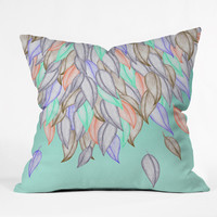 Jacqueline Maldonado A Different Nature 1 Outdoor Throw Pillow