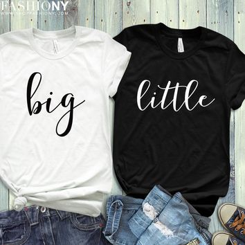 MORE STYLES! Big Little Sorority Reveal, Funny Graphic Tees, Tank-Tops & Sweatshirts