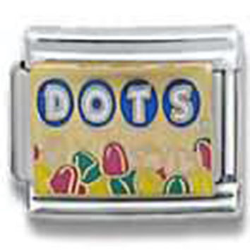 Tootsie Roll Candies-ᆱ DOTS Officially Licensed Italian Charm