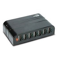 7-Port USB 2.0 Hub, Black | www.deviazon.com