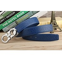 FERRAGAMO CLASSIC MENS BELT WOMENS REAL LEATHER BELTS