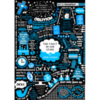 DFTBA Records :: The Fault in our Stars Collage Poster