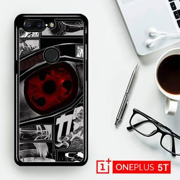 Anime Naruto Sharingan X4954  OnePLus 5T / One Plus 5T Case
