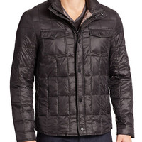 Kenneth Cole New York Box-Quilted Puffer Jacket