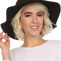Sakkas Cruz Womens Wide Brimmed Floppy Hat With Knotted Band
